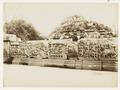 KITLV 29216 - Kassian Céphas - Reliefs on the terrace of the Shiva temple near the stairs to the Guru Chapel of Prambanan near Yogyakarta - 1889-1890.tif