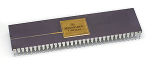 Motorola 68010 - Motorola 68010 as DIP