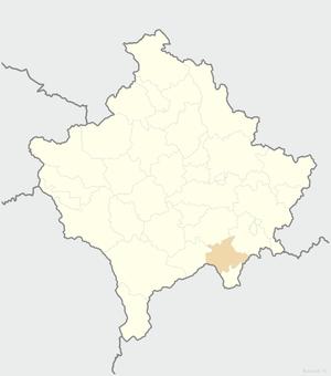 Kaçanik - Image: Kaçanik