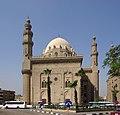 Kairo Sultan Hassan Moschee BW 1.jpg