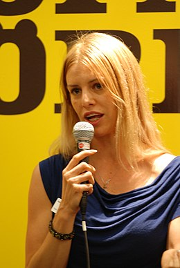 Kajsa Ekis Ekman at Göteborg Book Fair 2013.JPG