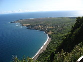 Kalawao County, Hawaii - Image: Kalaupapa penninsula
