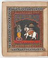 Kalki, avatara of Visnu. Wellcome L0025407.jpg