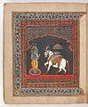 Kalki, avatara of Visnu. Wellcome L0025407.jpg