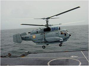 Kamov Ka-31 - Kamov Ka-31 of Indian Navy