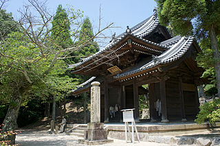 Buddhist temple in Hyōgo Prefecture, Japan