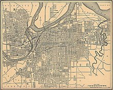 Kansas City Area In 1907