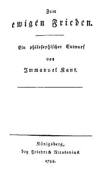 Immanuel Kant Wikiquote