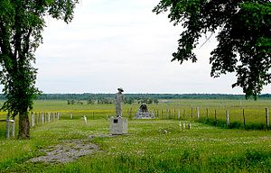 Kapuskasing - Ukrainian Cemetery of Kapuskasing Internment Camp