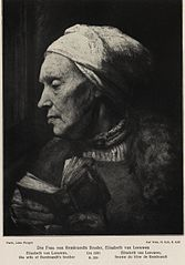 The Wife of Rembrandt's Brother