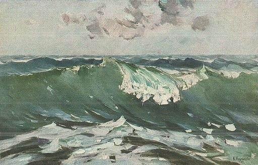 Karl Hagemeister - Die Welle, 1913