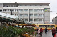 """Karlsruhe, das Hotel """"am Markt"""".JPG"""