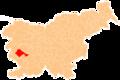 Karte Ajdovscina si.png