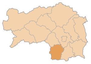 Deutschlandsberg District - Image: Karte Aut Stmk DL