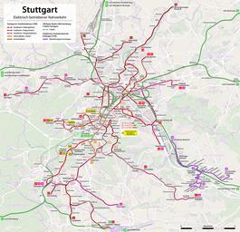 Stuttgart Stadtbahn Wikipedia