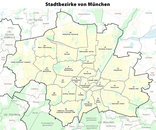 The Boroughs of Munich