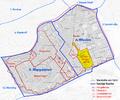 Karte von Schaumburgergrund, ehem. Vorstadt von Wien und dessen Lage in den heutigen Bezirken.png