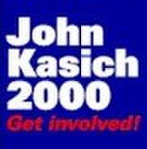 John Kasich presidential campaign, 2000 - Image: Kasichbanner