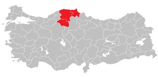 Kastamonu Subregion Subregion in West Black Sea, Turkey