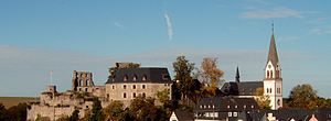 Kastellaun - Castle Kastellaun monumental zone