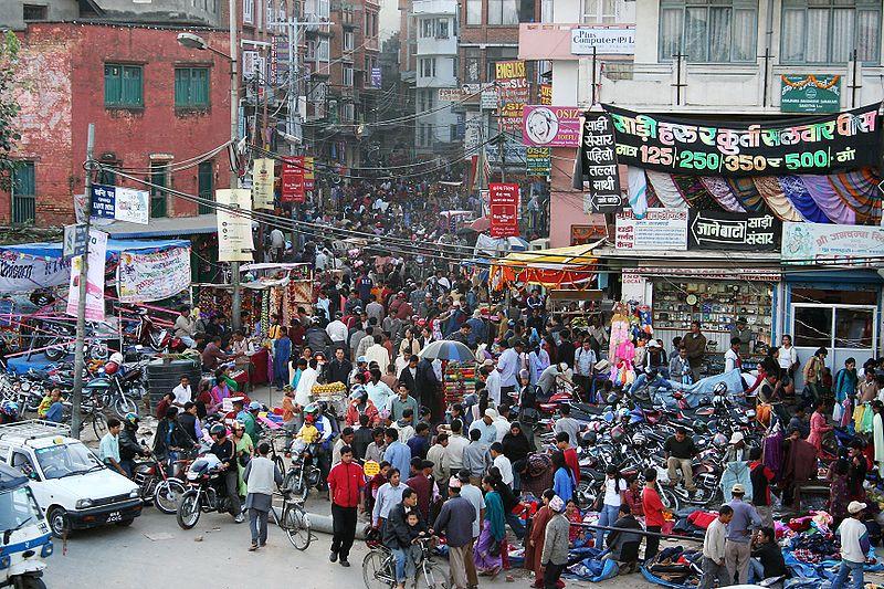ھۆججەت:Kathmandu street.jpg