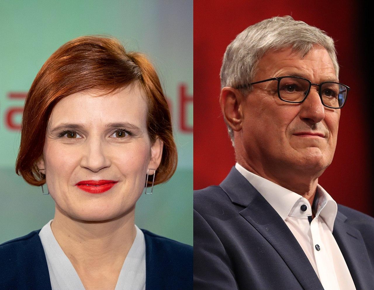 Katja Kipping et Bernd Riexinger 2019-2018.jpg