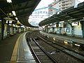 Keikyu-railway-main-line-Hinodecho-station-platform.jpg