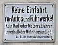 Keine Einfahrt für Autos und Fuhrwerke, Landstraßer Hauptstraße 173-175.jpg