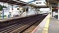 Keisei-railway-KS38-Sogosando-station-platform-20200727-074300.jpg