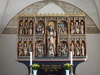 Keldby Church - Altarpiece