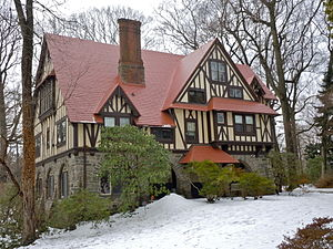 Chaim Potok - Potok's house in suburban Philadelphia