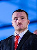 Ken Owens. Wales Grand Slam Celebration, Senedd 19 March 2012.jpg