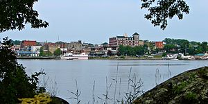 Kenora - Image: Kenora ON skyline