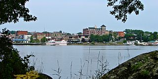 Kenora City in Ontario, Canada