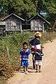 Kiet Ngong, enfants du village des éléphants.jpg