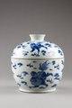 Kinesisk porslinsskål med lock från Kangxi eran - Hallwylska museet - 95608.tif