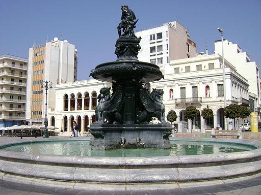 King George square in Patra