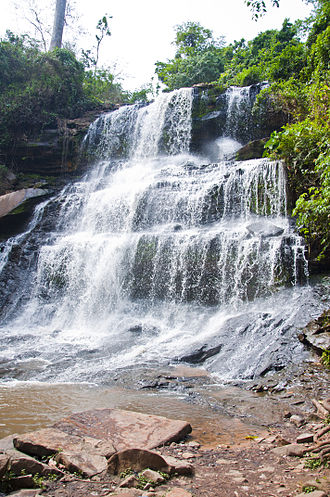 Kintampo waterfalls - Image: Kintempo Water Falls II