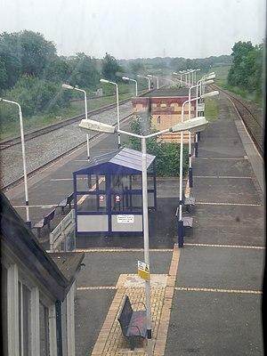Kirkham and Wesham railway station - Kirkham and Wesham railway station in 2008
