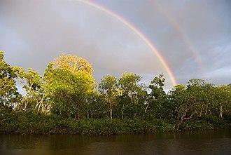Kuala Penyu District - Image: Klias Wetlands Double Rainbow 01