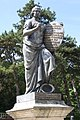 Klio statue at Heldenberg memorial (Lower Austria).jpg