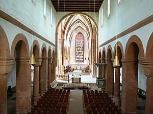 Amelungsborn Abbey - Interior of Amelungsborn Abbey church