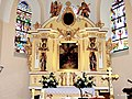 Kościół, św. Michała Archanioła w Kcyni. Widok wnętrza kościoła - panoramio (2).jpg
