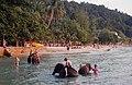 Koh Chang tourists with elephants.jpg