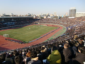 FC Porto in international football competitions - Tokyo's National Stadium hosted Porto's 1987 Intercontinental Cup 2–1 victory over Peñarol.