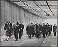 Koninklijk huis, koninginnen, openingen, tunnels, burgemeesters, Ij-Tunnel,, Bestanddeelnr 015-0605.jpg