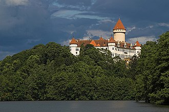 Archduke Franz Ferdinand of Austria - Château Konopiště in Bohemia – summer residence of Franz Ferdinand and his family