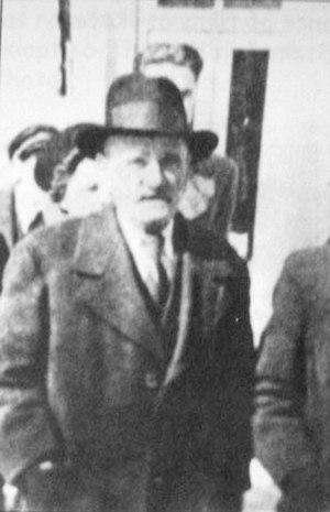 Konstantin Čomu - Konstantin Chomu in Bitola at 1931.