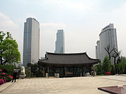 Korea-Seoul-Bongeunsa-13