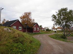 Korsnes - Street in Korsnes